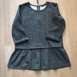 Anthropologie THML Sz Large grey Sweater